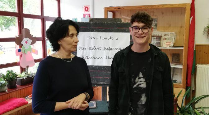 Október 12. Kovács Máté sikeres nyelvvizsgája